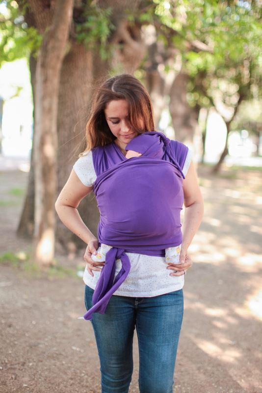 Neko Stretchy Wrap Sling - Purple