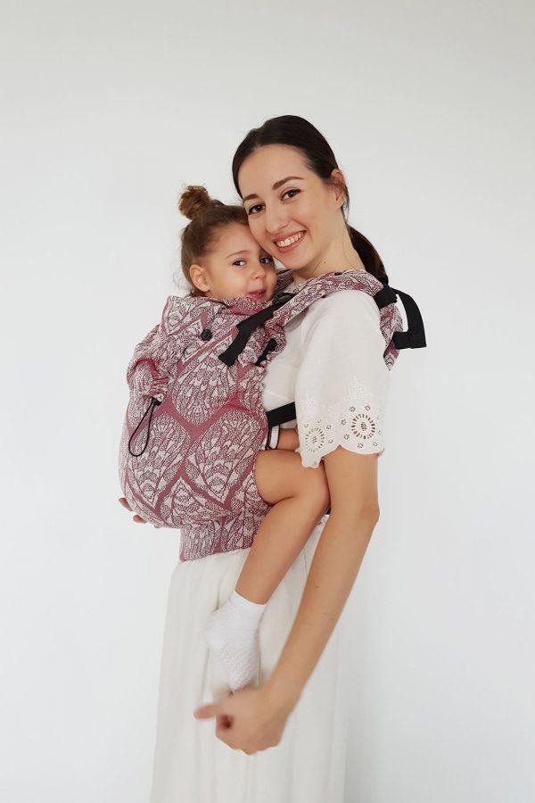 Neko Switch Toddler Size Carrier - Unique Ida Gold glitter