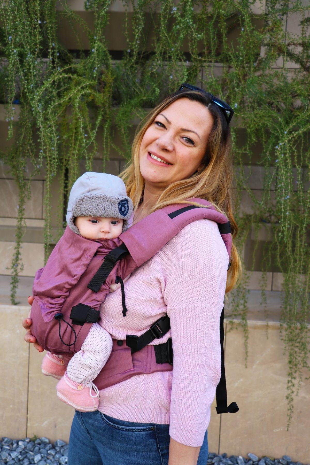 Neko Switch Baby Size Carrier - Plum