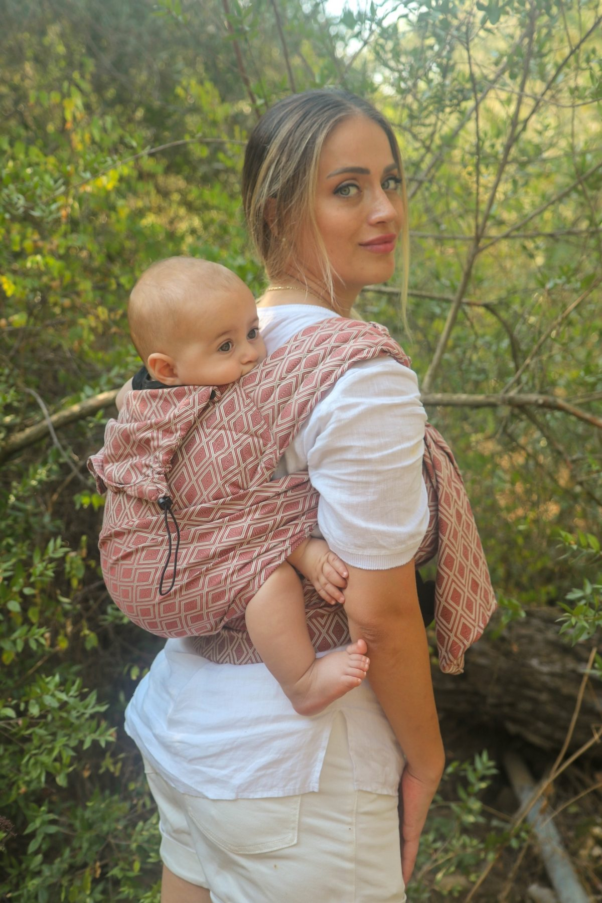 Neko Half Buckle Baby Size - Terracotta