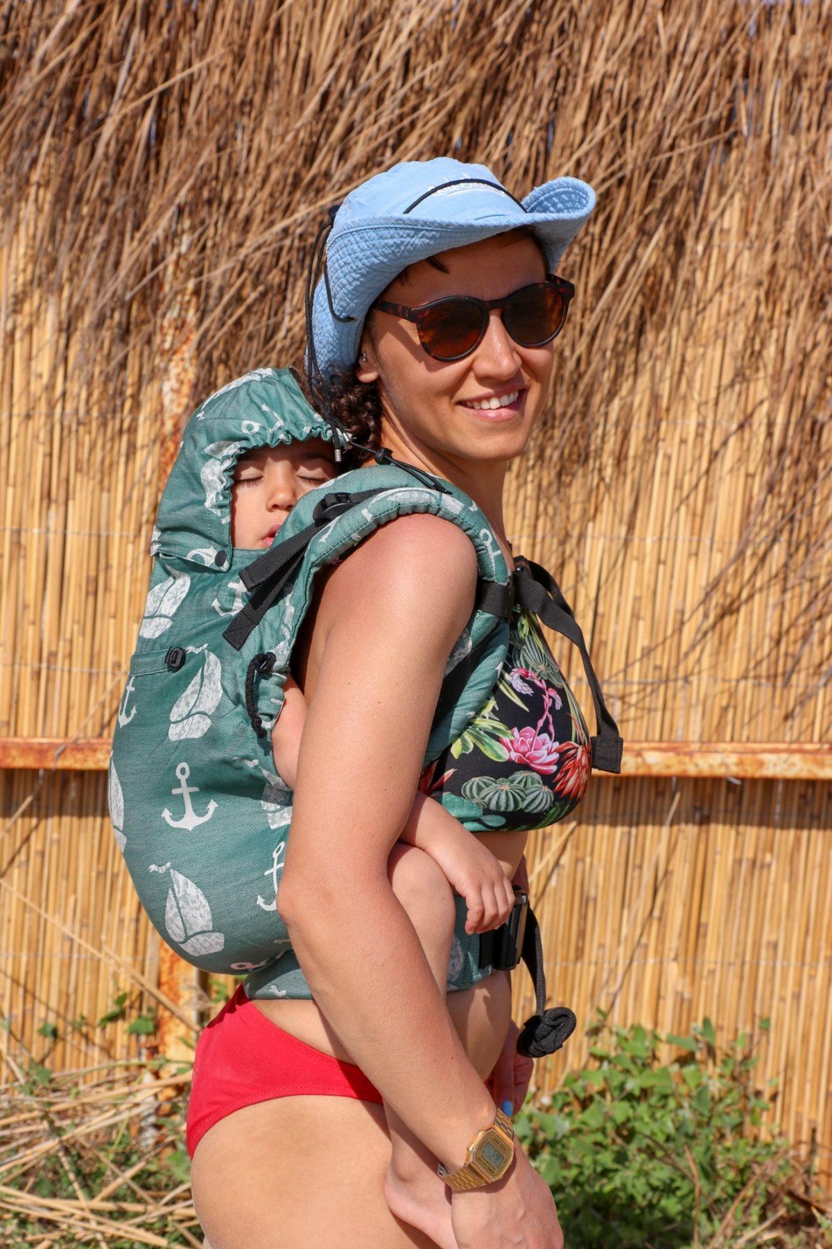 Neko Switch Toddler Size Carrier - Derya Clover