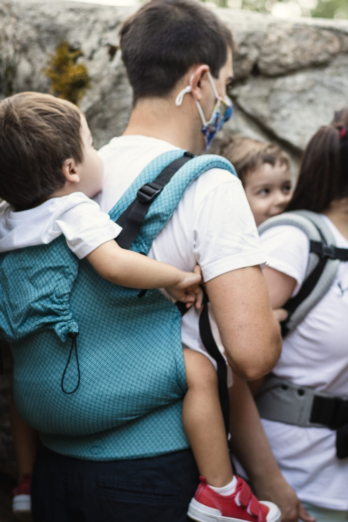 Neko Switch Toddler Size Carrier- Blue Diamond