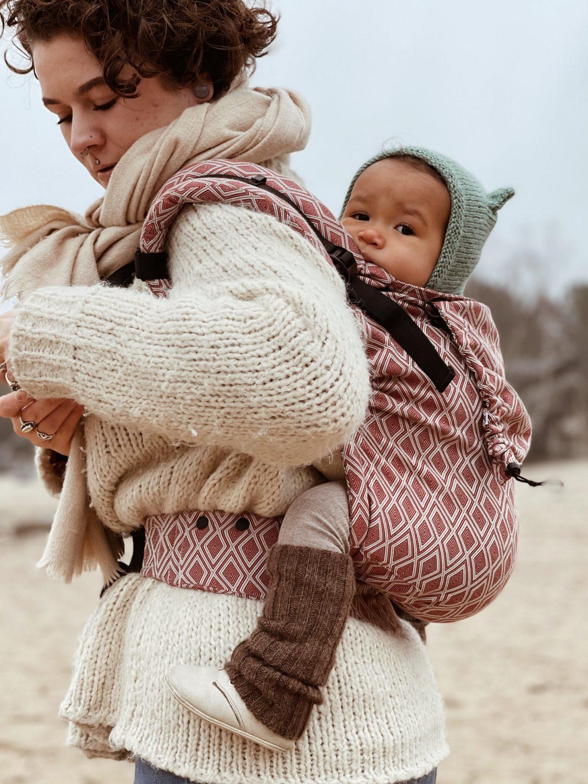 Neko Switch Toddler Size Carrier - Lycia Terracotta