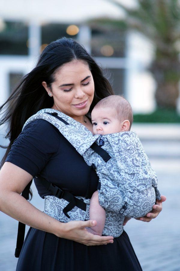 Neko Switch Baby Size Carrier - Efes Paisley Hazel Light